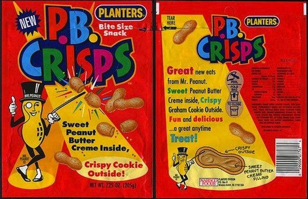 PB Crisps - PB Crisps - 25 Junk Foods We Wish Still Existed | Complex