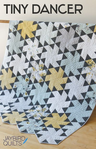Tiny Dancer - Newest quilt pattern out from Jaybird Quilts/@Julie Forrest Herman. Fabric: Paloma by Dear Stella