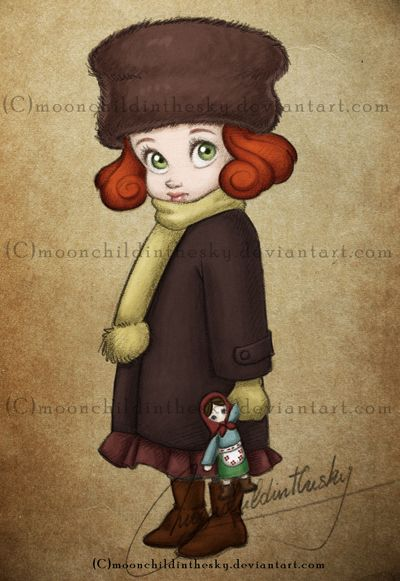 Little Avengers - Natasha by moonchildinthesky