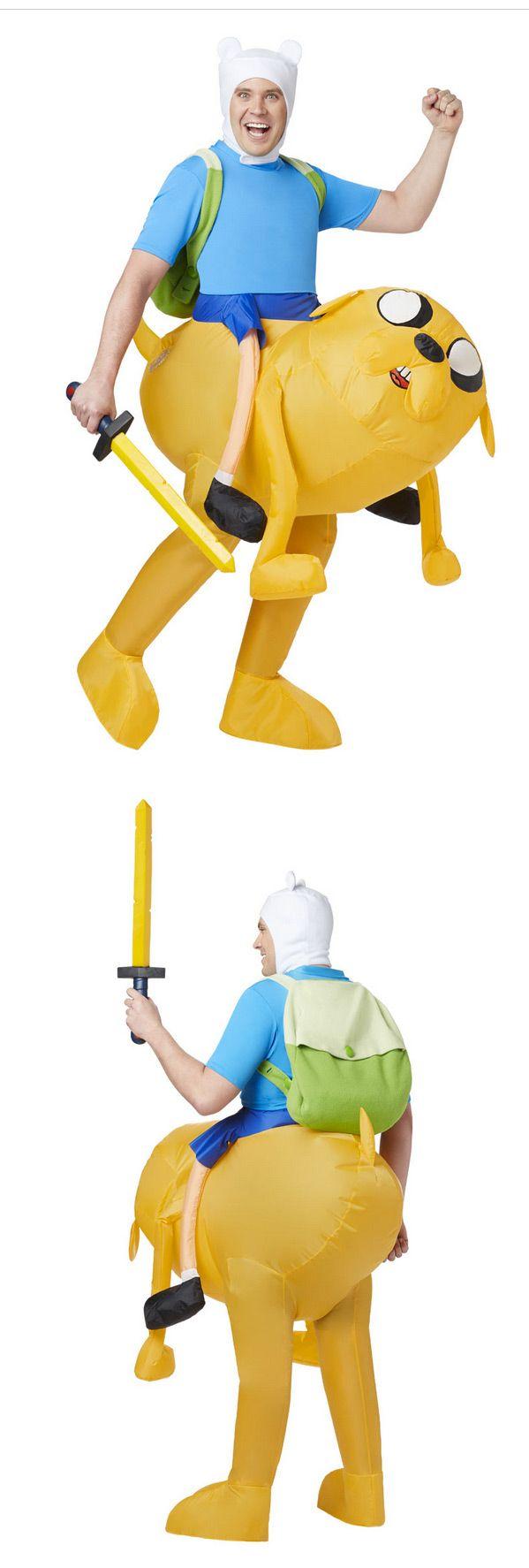 Finn from Adventure Time | http://www.spirithalloween.com/product/gm-finn-inflatable/#