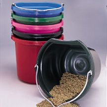 Flat Back Bucket, 20-Quart - cheaper from Chick's Saddlery -- $6.99