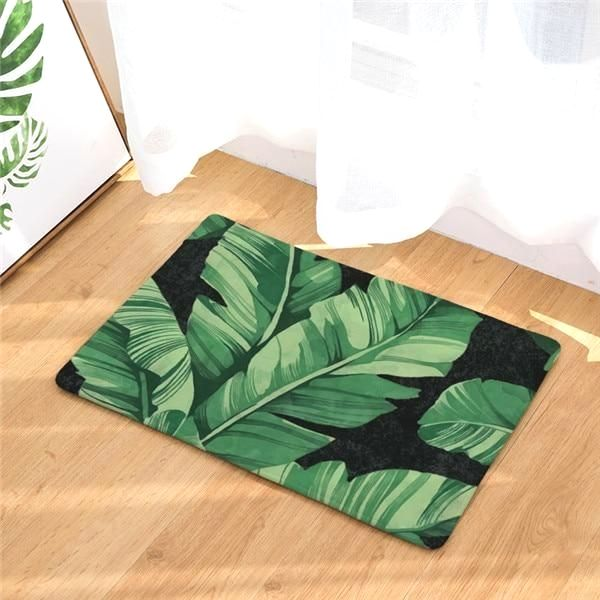 Do It Yourself Bath Mat Projects Tropical Bathroom Decor Tropical Bathroom Bathroom Mats