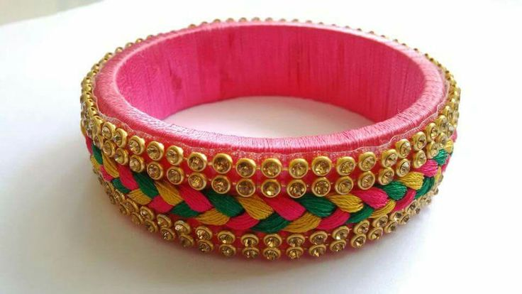 Silkthreadbangle#cityfashions  +91 9703713779