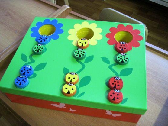 Многофункциональная игра «Разноцветные букашки». Воспитателям детских садов, школьным учителям и педагогам - Маам.ру