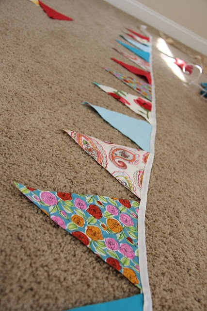 DIY No Sew Bunting | BlogHer