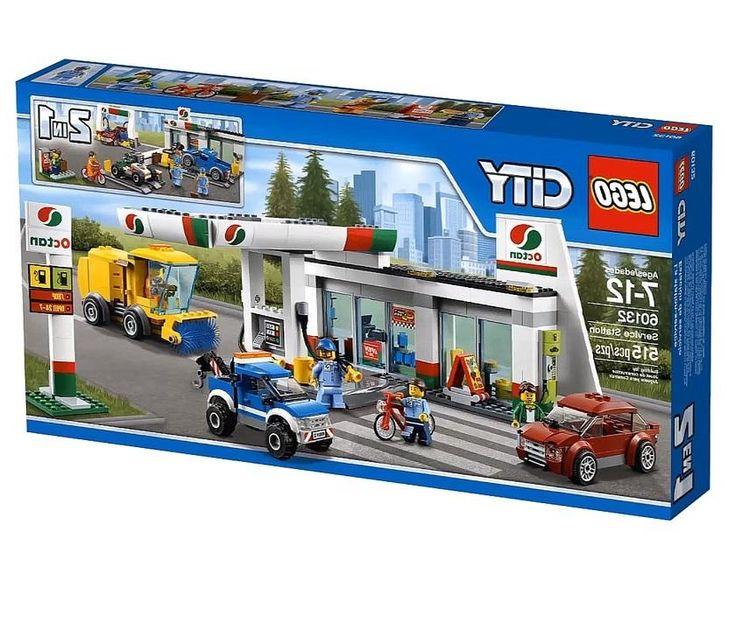 Lego LEGO, City Станция технического обслуживания