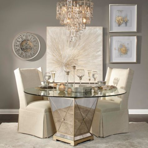 Borghese Round Dining Table From Z Gallerie