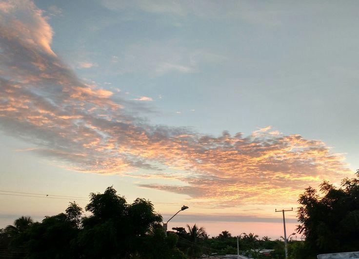 Amanecer en La Playa, Barranquilla