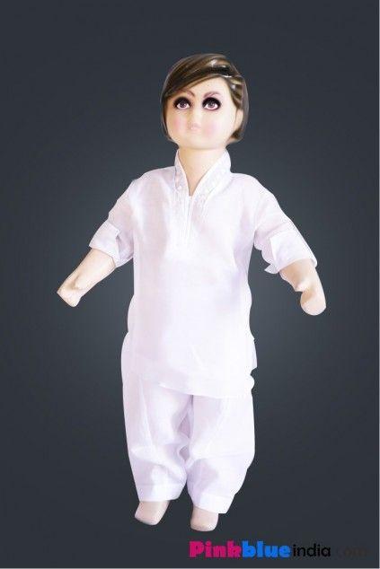 Classy and Summery Ethnic White Kurta Pajama for Indian Kids. #ethenicwear #kurtapajama #whitekurtapajama #ethenicdress #kurtapajamset #traditionalcloth #kidsclothingindia #babyboutique