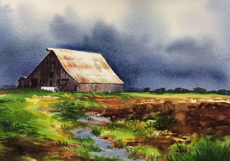 Preview: How to paint an abstract landscape Learn about the variegated wash technique and how to execute it effectively in your painting How to make a preliminary sketch of a landscape painting using a reference...