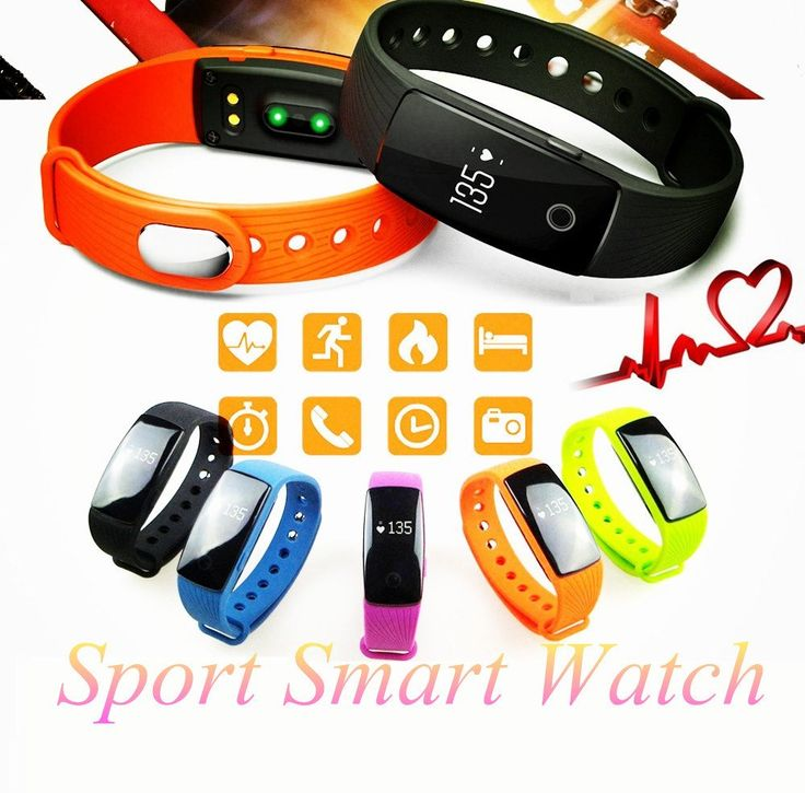 Smart Wristband with Bluetooth 4.0