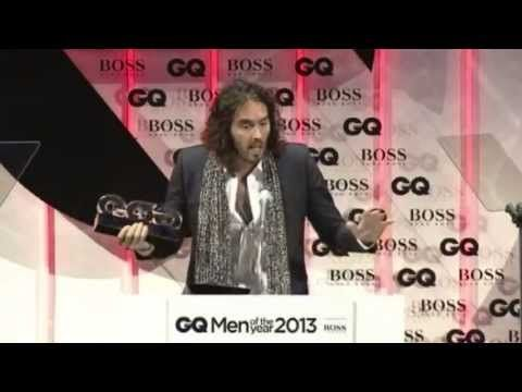 "Russell Brand was given the ""Oracle"" award at the GQ Awards last week. So he gave a (very sweary) acceptance speech. 