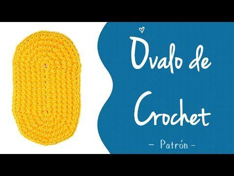 SUELA OVALADA A CROCHET (todas las tallas) | Patrones Valhalla - YouTube