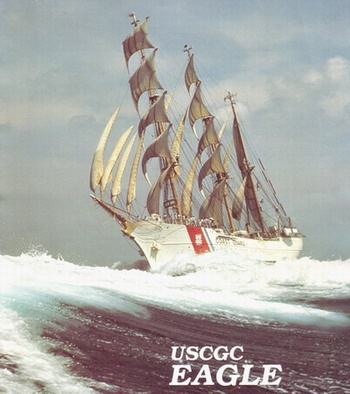 "US Coast Guard Barque ""Eagle"": Barque Eagle Fm, Bad Boys, Guard Barque, The Eagles, Barqu Eagles Fm, Us Coast Guard, Quality Dentists"