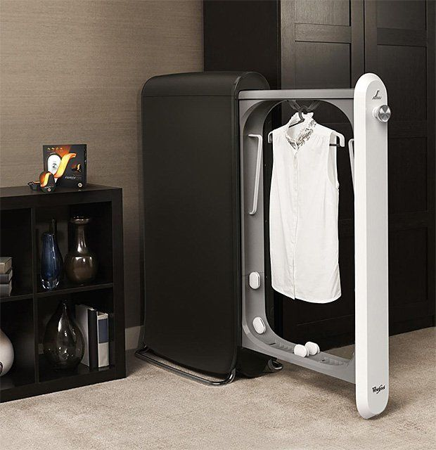 SWASH Express Clothing Care System / Reduce your dry cleaning bills to half the amount with this innovative SWASH Express Clothing Care System.  http://thegadgetflow.com/portfolio/swash-express-clothing-care-system/