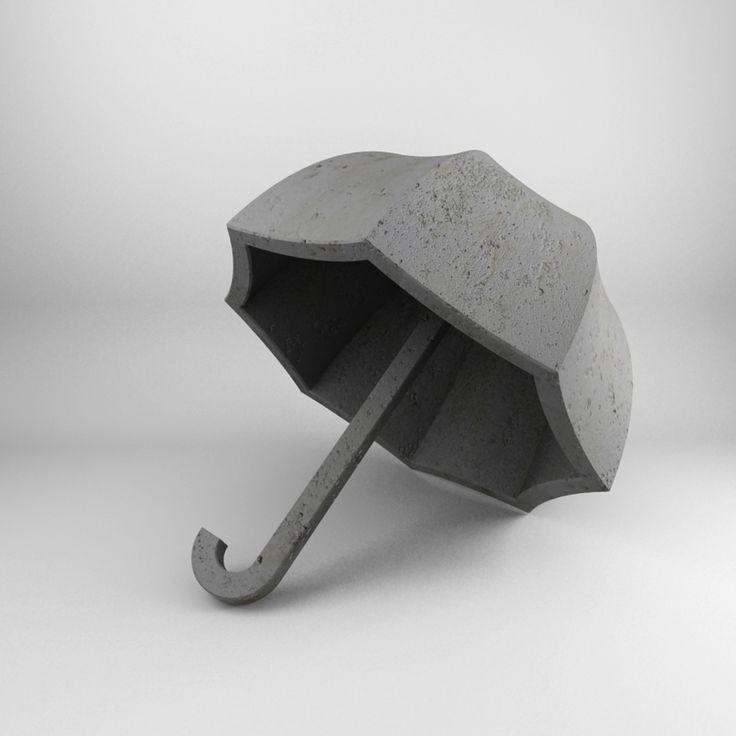 kkstudio.gr - concrete umbrella