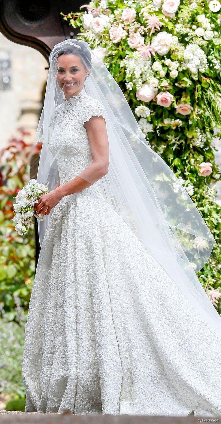 Pippa Middleton - Mariage de Pippa Middleton et James Matthew, en l'église St Mark's, à Englefield, Berkshire, Royaume Uni, le 20 mai 2017.