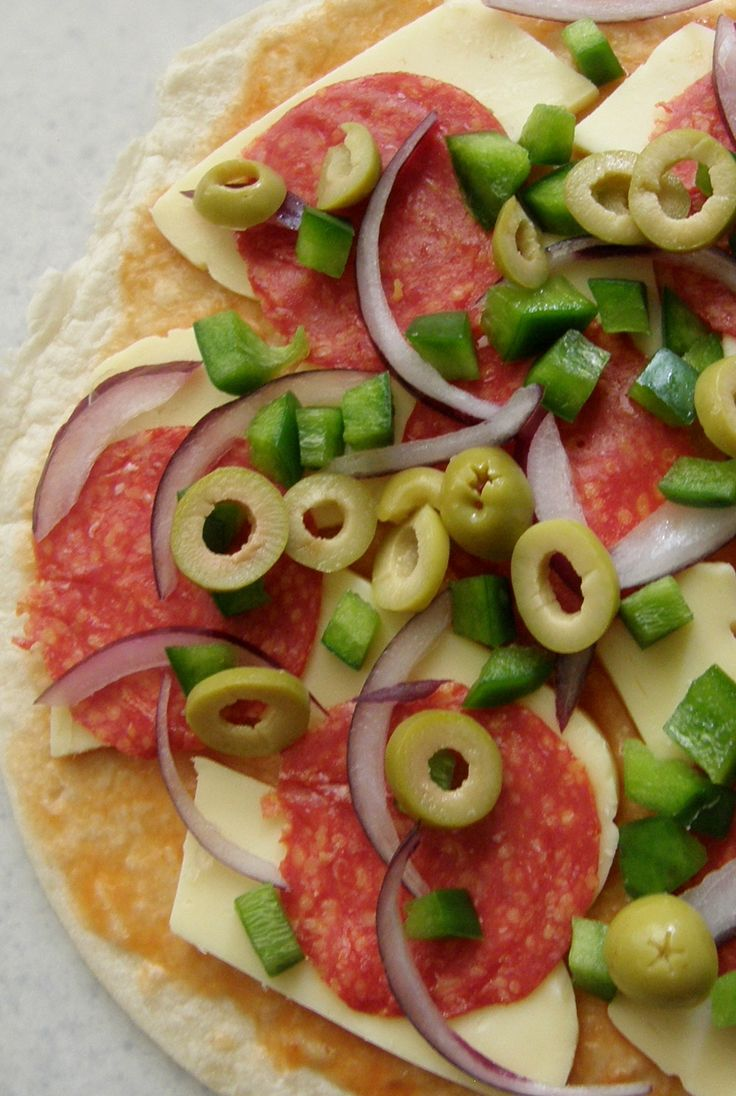 Pizzadilla = quesadilla de pizza