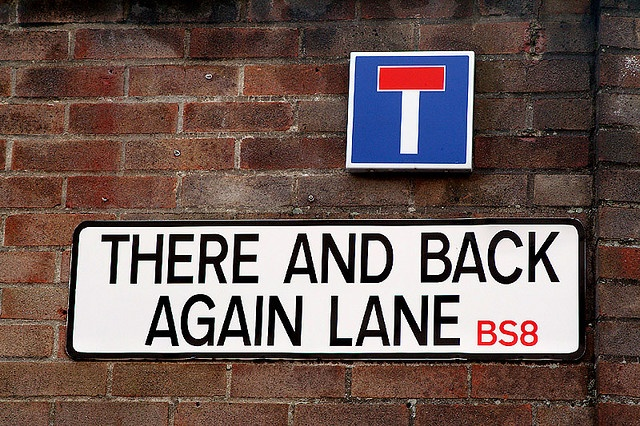 There And Back Again Lane, Cul-de-sac, Bristol