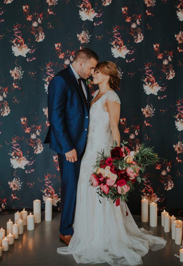 Modern Romance Styled Shoot. Wedding Ceremony, Romantic Wedding, Bride & Groom, Love
