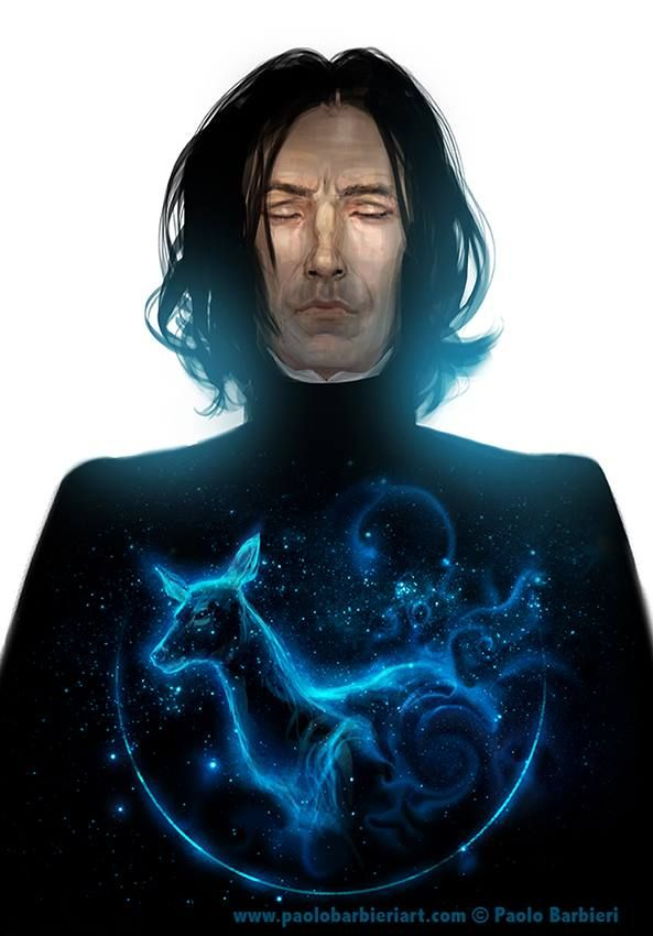 Snape by Paolo Barbieri