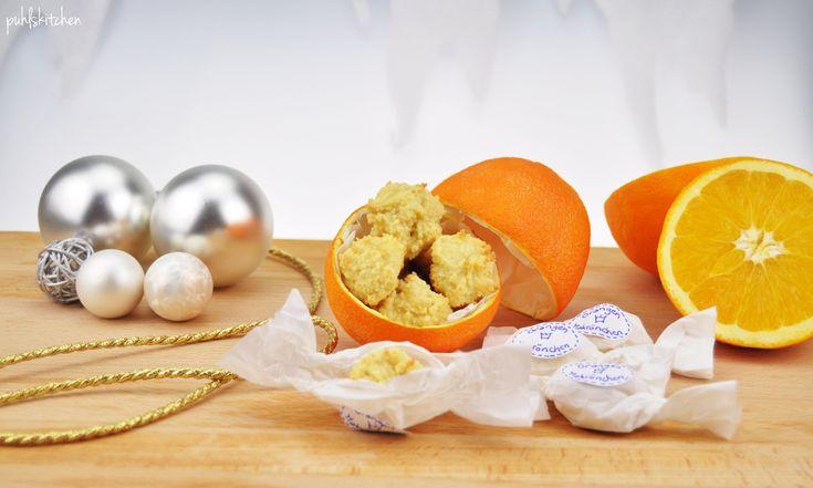 Orangenmakrönchen