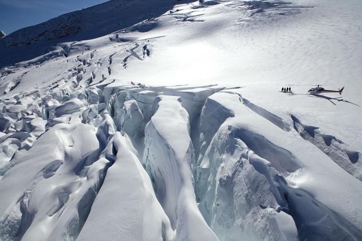 Clarke Glacier, Mt Aspiring National Park, NZ
