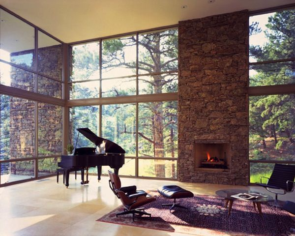 43 best open concept open floor plans images on pinterest for Contemporary house music