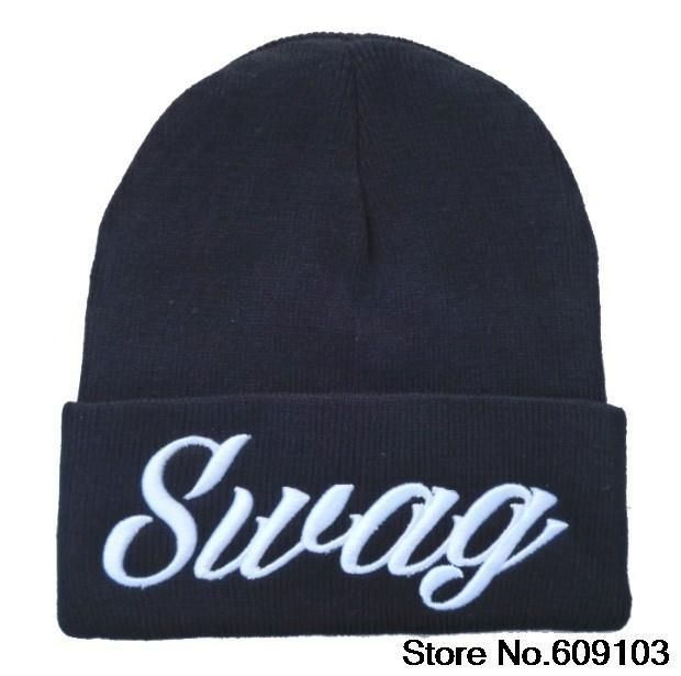 Hip-Hop Swag Swagg Beanies Cotton Men Women knitted cap wool Hats warm caps Snapback Hats winter hats 1pcs/lot $9.99