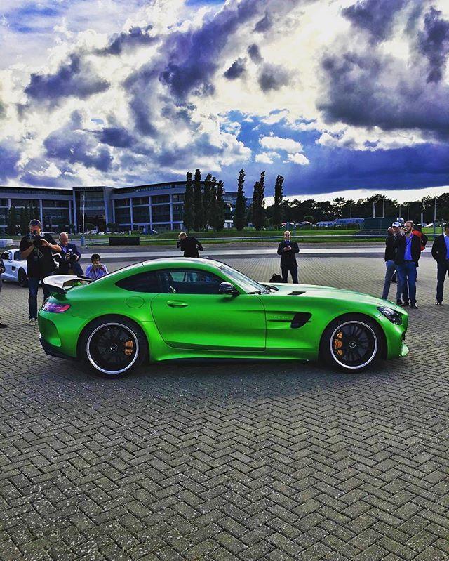 Beware the beast . Mercedes-AMG GTR . Photo by @santanya . #Mercedes…