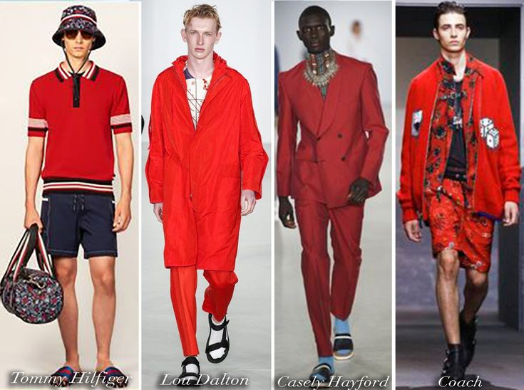 Men wearing red outfits, men in red, full red fashion, red style, streetstyle, menswear, SS18, FW18