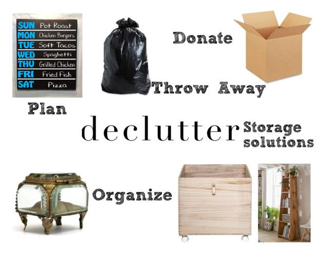"""Declutter and Organize"" by gothicvamperstein on Polyvore featuring interior, interiors, interior design, home, home decor, interior decorating, Bloomingville, Urban Outfitters, organize and declutter"