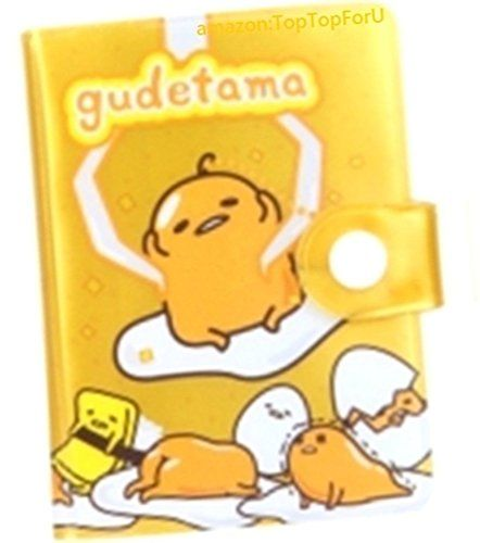 Gudetama Egg Business ID Credit Card Holder Case 2R Photo Album 24 Slots Small