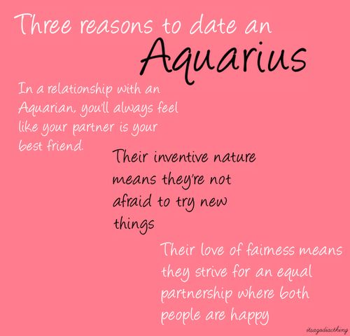 Aquarius dating aquarius horoskop