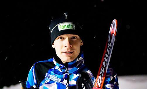 Paralympialaisissa Ilkka Tuomisto 20 km hopeamitali. Paralympics 20 Km - Silver.