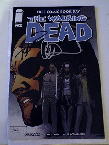Walking Dead Free Comic Day Special Comic Signed By Robert Kirkman & Charlie Adlard @ niftywarehouse.com #NiftyWarehouse #WalkingDead #Zombie #Zombies #TV