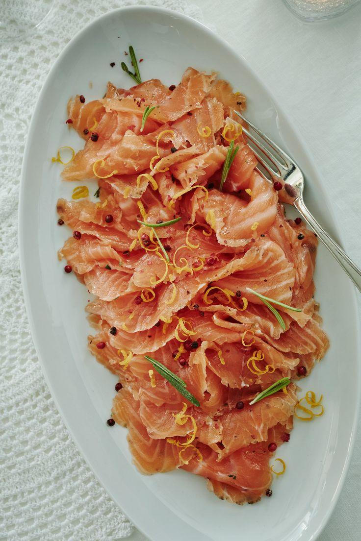 Appelsiini-rosmariinigraavattu lohi | K-ruoka #joulu #kalapöytä