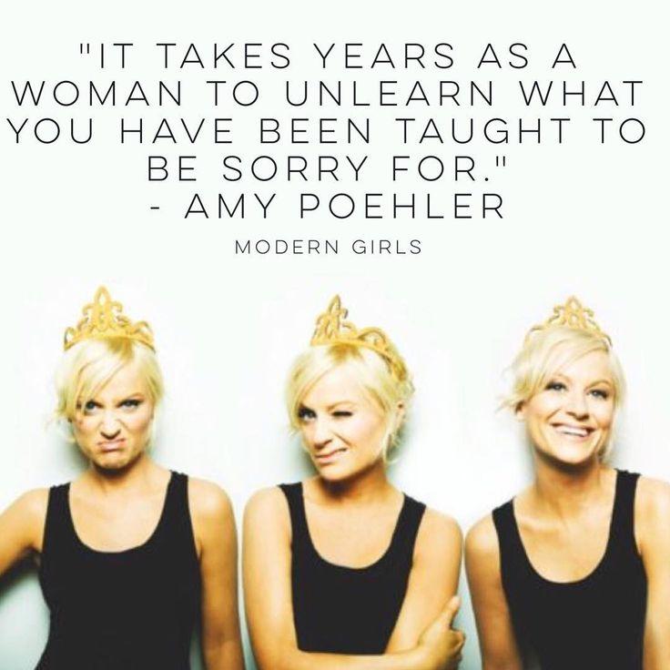 Amy Poehler speaks truths