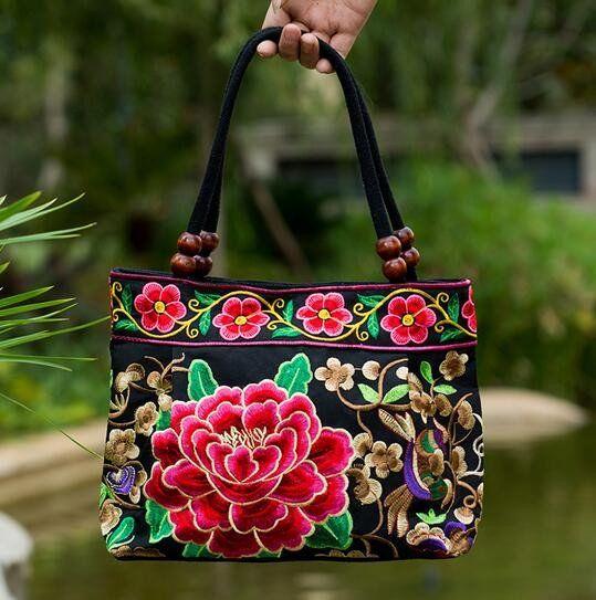 Vintage Embroidered Ethnic Handbags