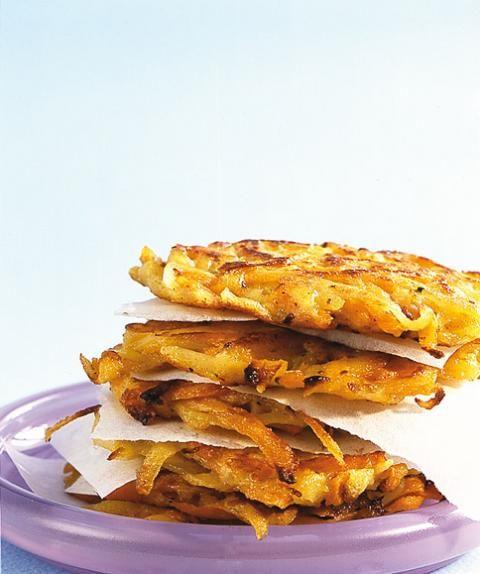 Möhren-Kartoffel-Rösti   Rezept   Rezepte   Cooking ...