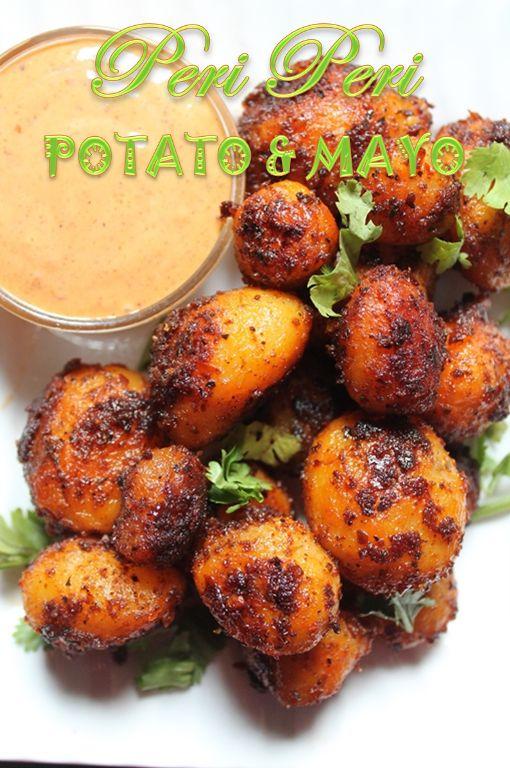 YUMMY TUMMY: Peri Peri Potatoes with Peri Peri Mayonnaise Recipe