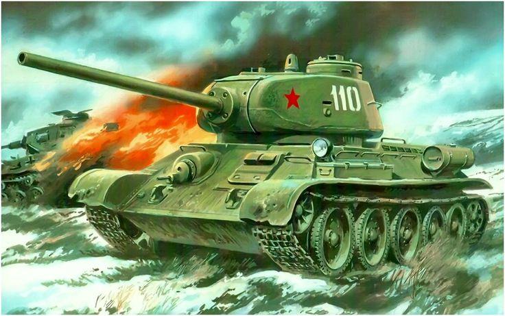 Medium tank T-34-85 / czołg średni T-34-85