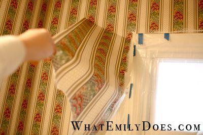 removing wallpaper vinegar or fabric softener