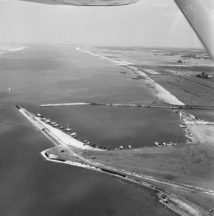 Jachthaven WSV Nulde in 1968.