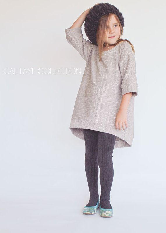 The Perri Pullover PDF pattern and tutorial - sizes 2t - 10, childrens sewing pattern - Instant download