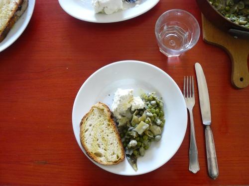 vignarola - spring vegetable stew   recipes   Pinterest