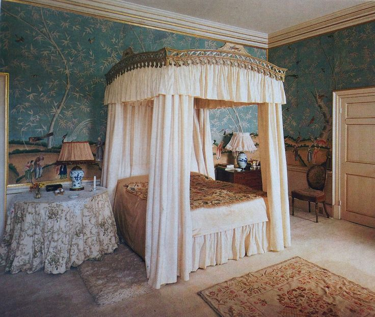 Lady Ancasters Bedroom. Grimsthorpe Castle