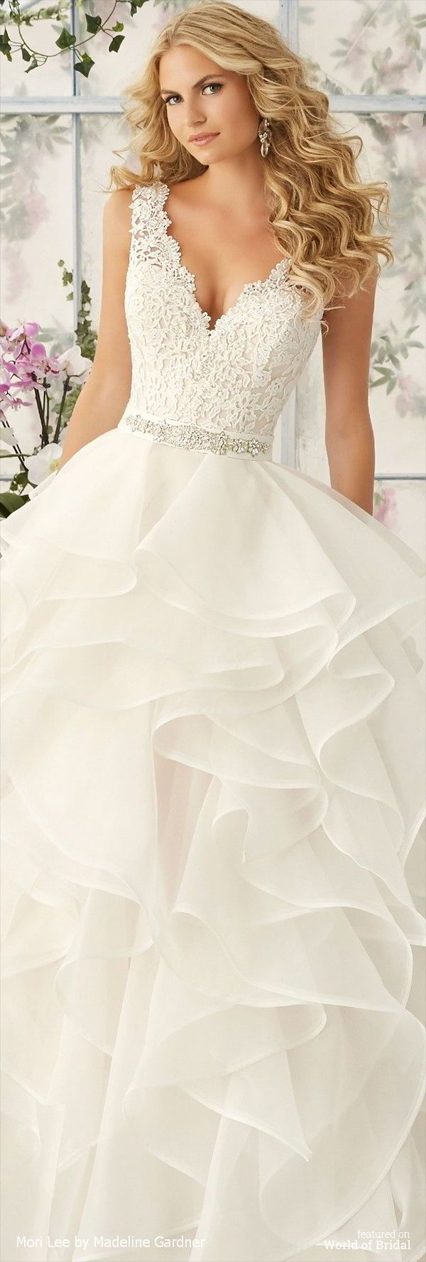 1000 ideas about hispanic hair on pinterest white hair for Madeline gardner mori lee wedding dress