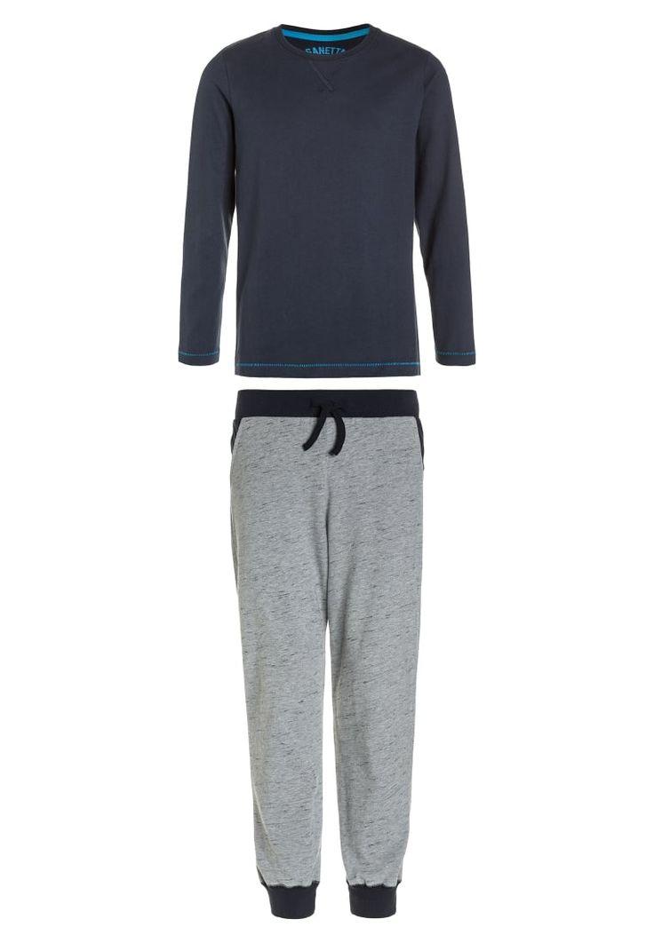 ¡Consigue este tipo de pantalón de pijama de Sanetta ahora! Haz clic para ver los detalles. Envíos gratis a toda España. Sanetta LONG ATHLEISURE  Pijama corto slate blue: Sanetta LONG ATHLEISURE  Pijama corto slate blue Ropa   | Material exterior: 100% algodón | Ropa ¡Haz tu pedido   y disfruta de gastos de enví-o gratuitos! (pantalón de pijama, pijama hombre, pantalón corto de pijama, pijama corto, pantalón de pijama, pantalones sueltos lounge, pajamas, pijama, sleepwear, pyjama, s...