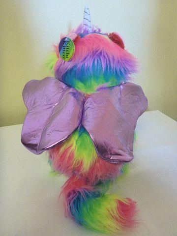 KITCHI- KITTEN  #Rainbow #Butterfly #Unicorn #Kitten  WINGS: Light Purple